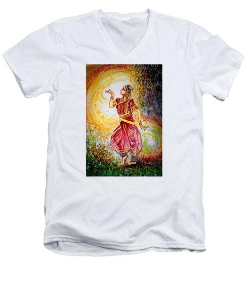 Dance 2 Men's V-Neck T-Shirt by Harsh Malik
