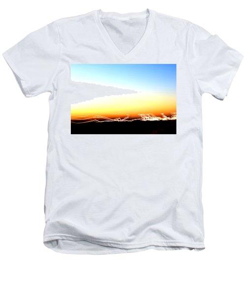 Dancing In The Sunlight Men's V-Neck T-Shirt
