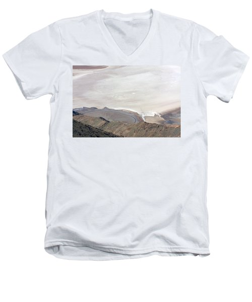 Men's V-Neck T-Shirt featuring the photograph Dante's View #2 by Stuart Litoff