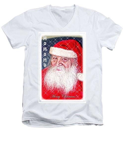 Darius Merry Christmas Men's V-Neck T-Shirt