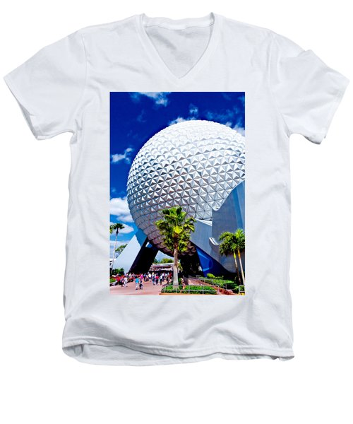 Daylight Dome Men's V-Neck T-Shirt