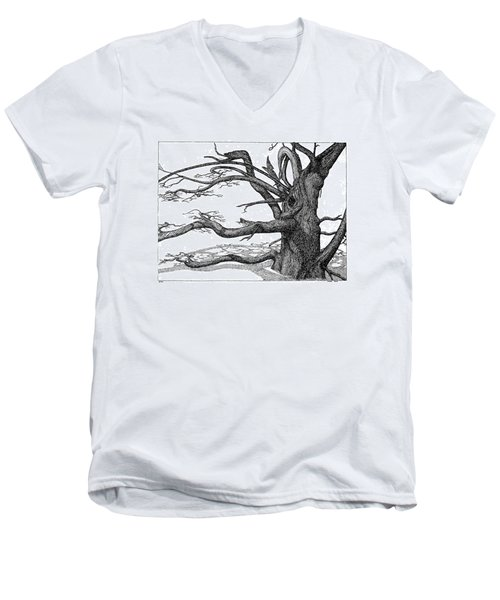 Dead Tree Men's V-Neck T-Shirt