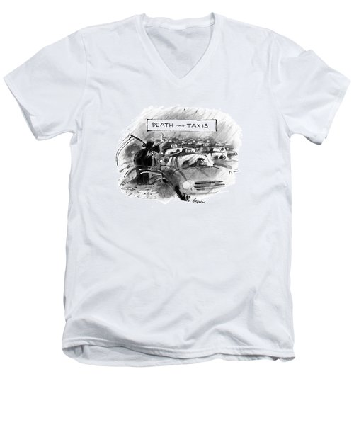 Death And Taxis Men's V-Neck T-Shirt