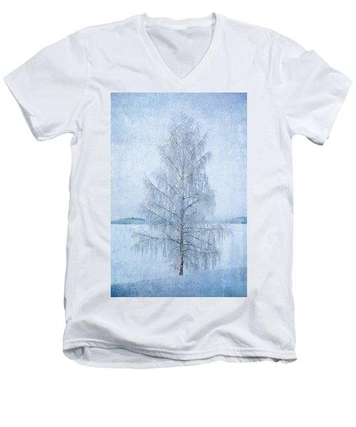 December Birch Men's V-Neck T-Shirt