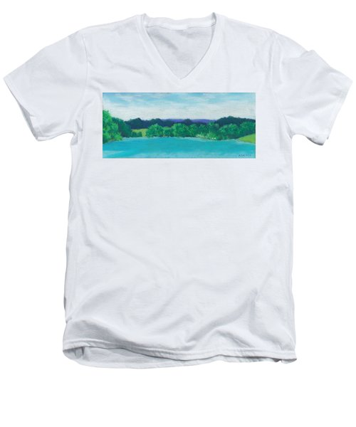 Deep Breath Men's V-Neck T-Shirt