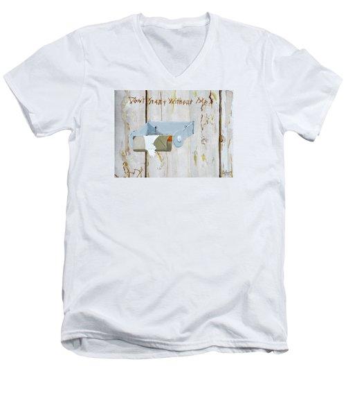 Deer Lease Dilemma Men's V-Neck T-Shirt