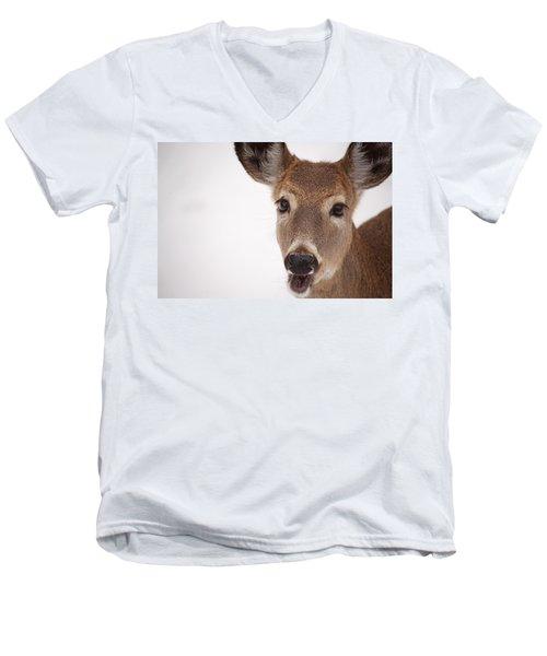 Deer Talk Men's V-Neck T-Shirt