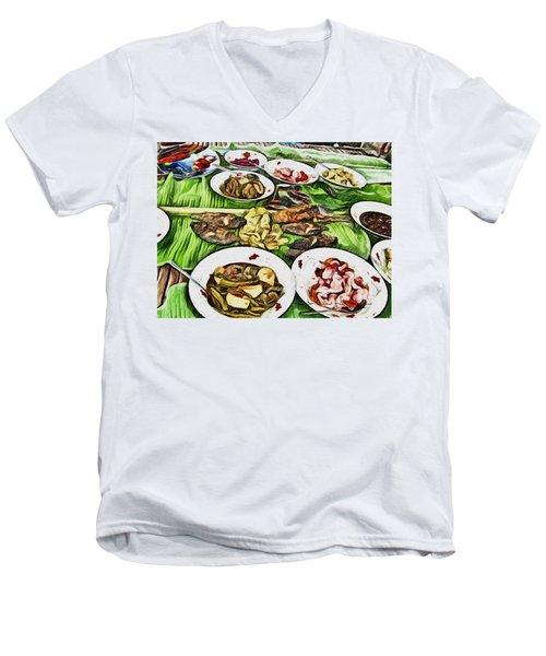 Deliciously Fresh Men's V-Neck T-Shirt