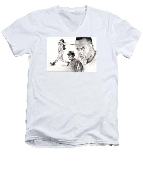 Derek Jeter Men's V-Neck T-Shirt