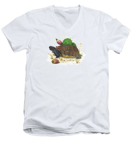 Desert Tortoise Men's V-Neck T-Shirt
