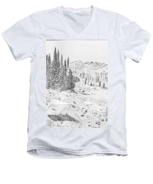 Devil's Castle Men's V-Neck T-Shirt