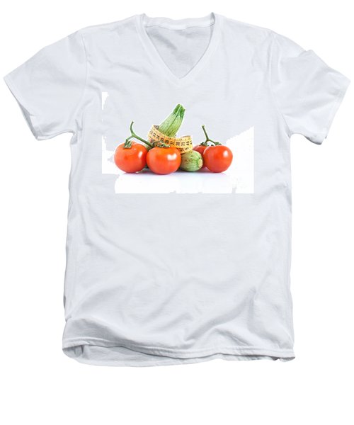 Diet Ingredients Men's V-Neck T-Shirt