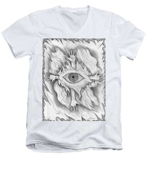 Dimension 4 Men's V-Neck T-Shirt