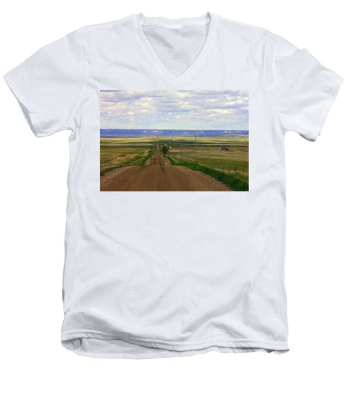 Dirt Road To Forever Men's V-Neck T-Shirt