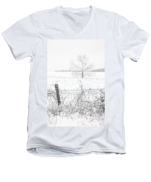 Distant Tree Men's V-Neck T-Shirt