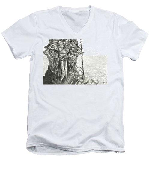 District 9 Men's V-Neck T-Shirt by Kate Black