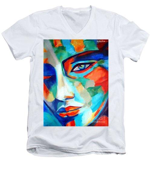 Divine Consciousness Men's V-Neck T-Shirt