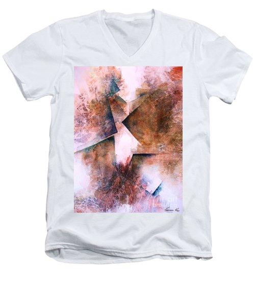 Divine Path Men's V-Neck T-Shirt