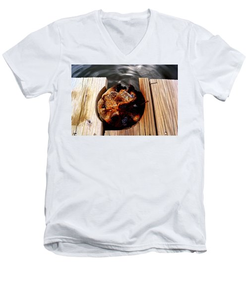 Dock Men's V-Neck T-Shirt