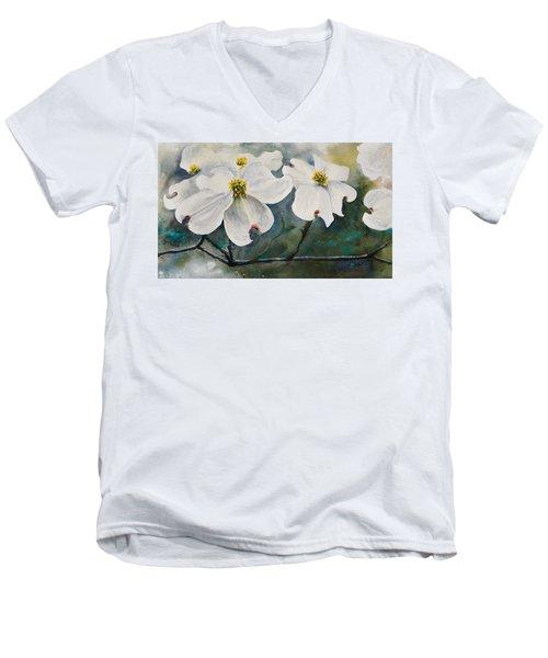 Dogwood 7 Men's V-Neck T-Shirt