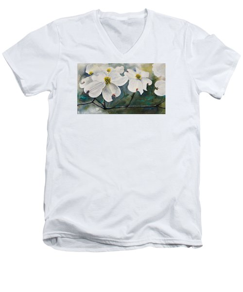 Dogwood 7 Men's V-Neck T-Shirt