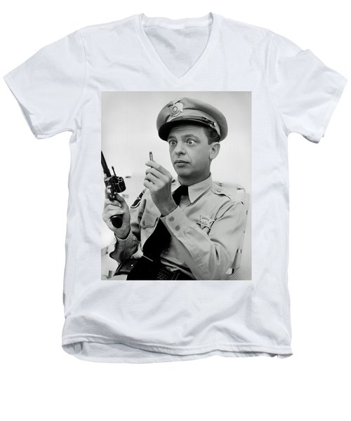 Barney Fife - Don Knotts Men's V-Neck T-Shirt