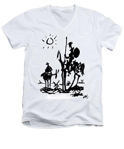 Don Quixote Men's V-Neck T-Shirt