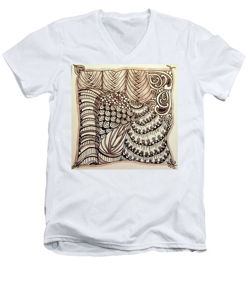 Doodling Fun Men's V-Neck T-Shirt
