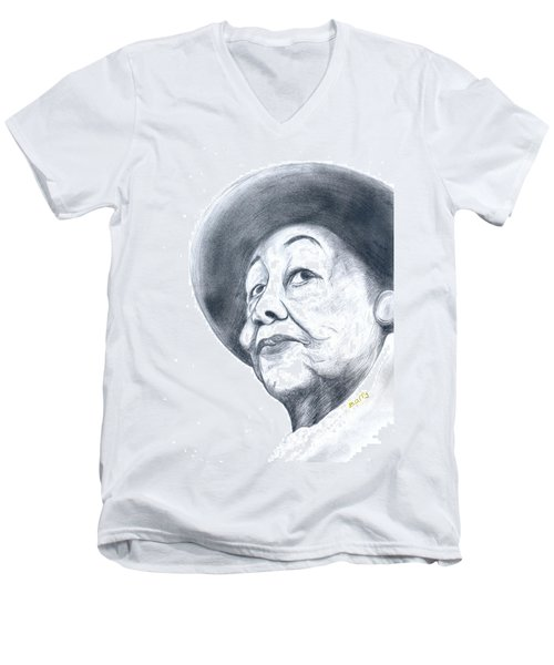 Dorothy Height Men's V-Neck T-Shirt