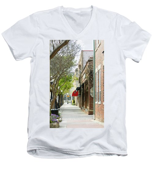 Downtown Aiken South Carolina Men's V-Neck T-Shirt