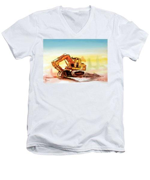 Dozer October Men's V-Neck T-Shirt