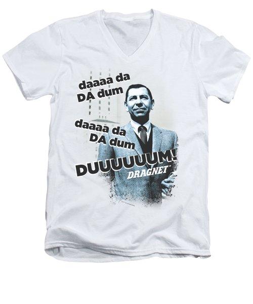 Dragnet - Theme Men's V-Neck T-Shirt