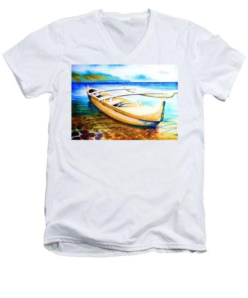 Dreams Of Polynesia Men's V-Neck T-Shirt