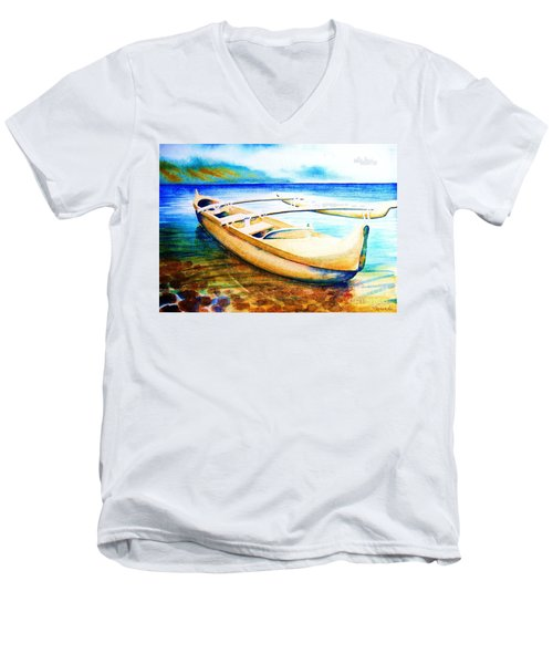 Dreams Of Polynesia Men's V-Neck T-Shirt