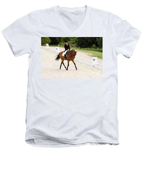 Dressage Test Men's V-Neck T-Shirt