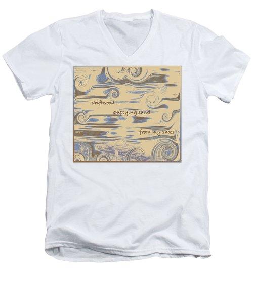 Driftwood Haiga Men's V-Neck T-Shirt