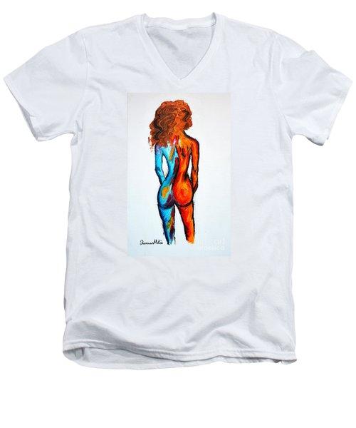 Duality Men's V-Neck T-Shirt