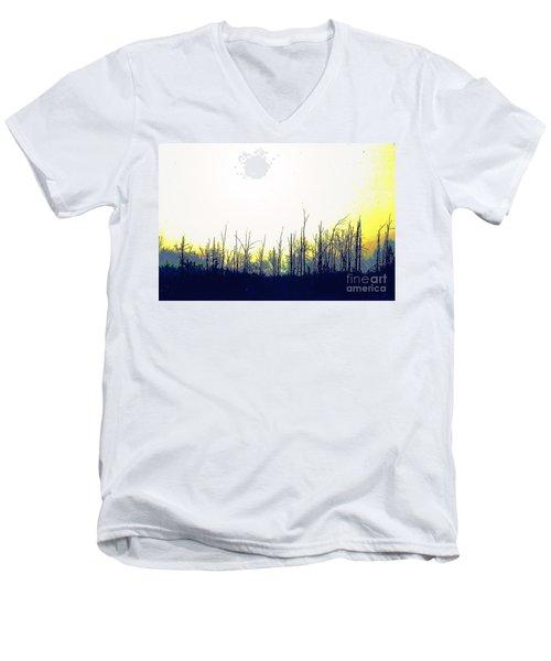 Dudleytown Men's V-Neck T-Shirt