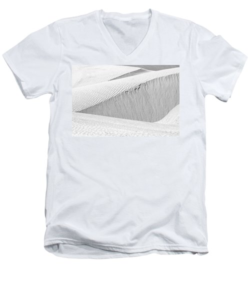 Dune Abstract, Paryang, 2011 Men's V-Neck T-Shirt