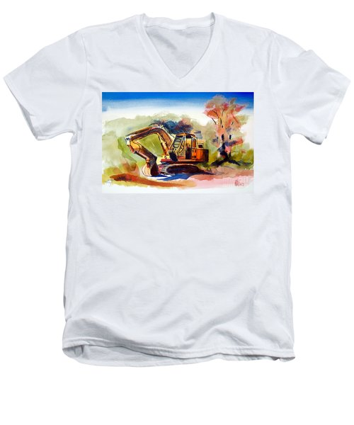 Duty Dozer II Men's V-Neck T-Shirt