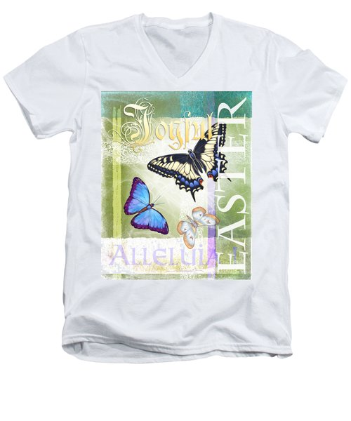 Easter Alleluia Men's V-Neck T-Shirt