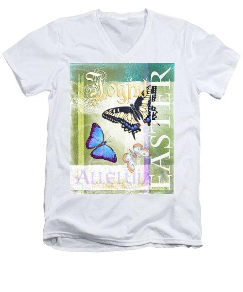 Easter Alleluia Men's V-Neck T-Shirt