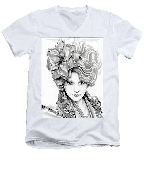 Effie Trinket - The Hunger Games Men's V-Neck T-Shirt
