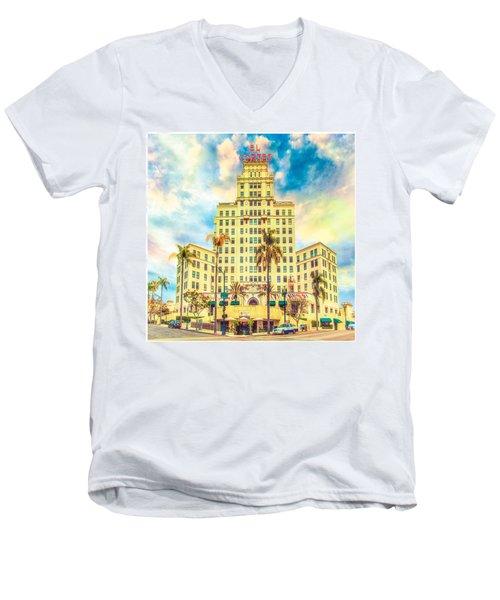 El Cortez Men's V-Neck T-Shirt