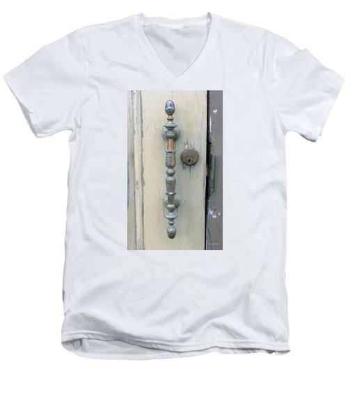 Elegant Still Men's V-Neck T-Shirt by RC deWinter