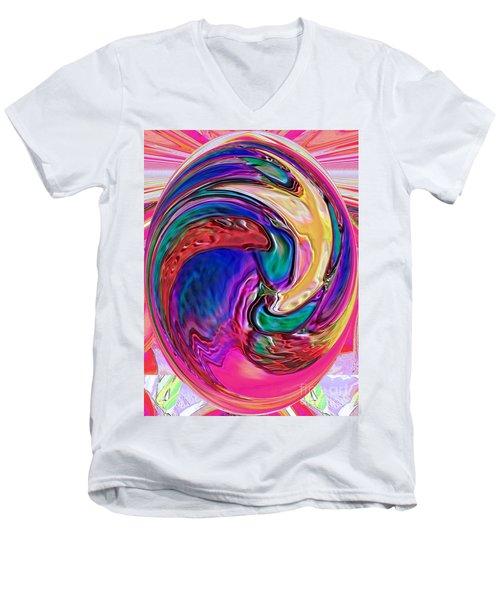 Emergence - Digital Art Men's V-Neck T-Shirt