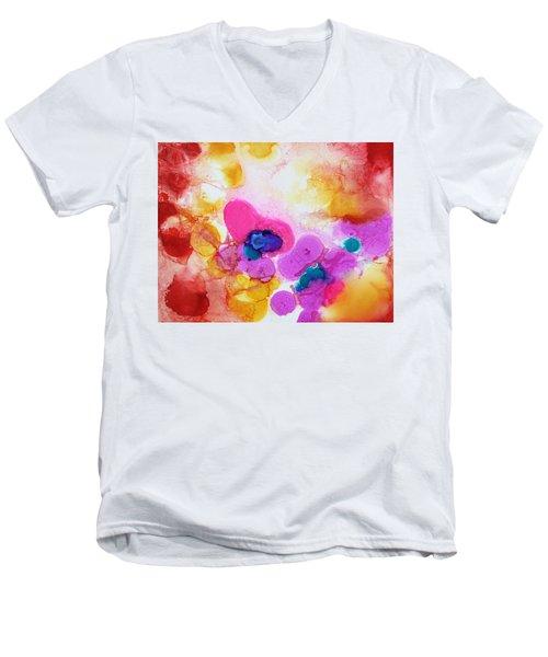 Emotion Men's V-Neck T-Shirt by Tara Moorman