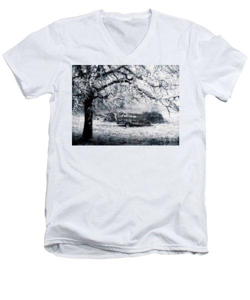 Enchanted Pasture Men's V-Neck T-Shirt