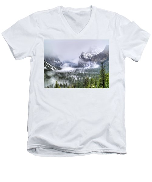 Enchanted Valley Men's V-Neck T-Shirt
