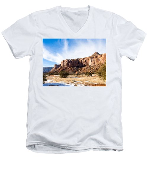 Escalante Canyon Men's V-Neck T-Shirt